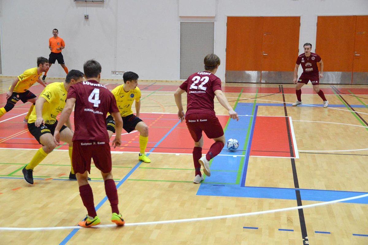Alastaron Urheilijoiden pistetili karttui marraskuun ensimmäisenä viikonloppuna vain yhdellä tasapelipisteellä futsalin Ykkösessä